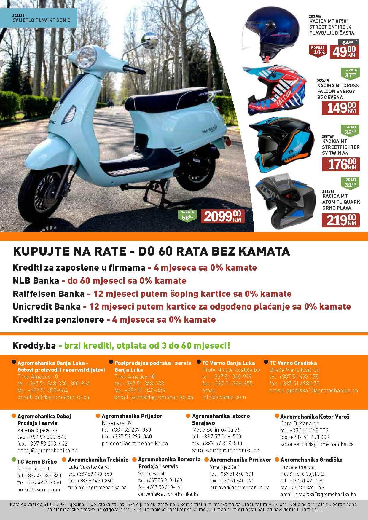Maj 2021 Agromehanika Verno katalog 01.05.2021. 31.05.2021. Page 24