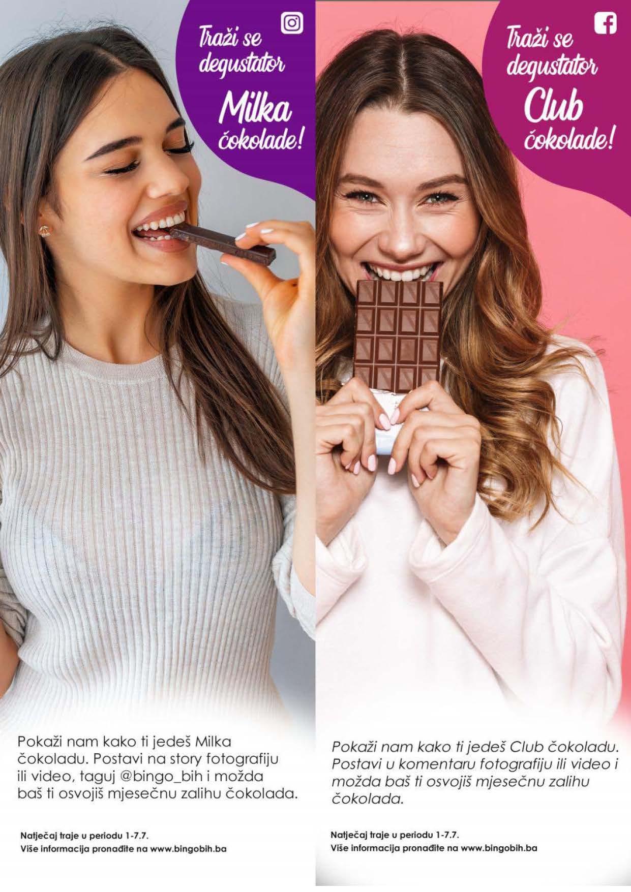 BINGO Katalog Dani cokolade JUL 2021 1.7.2021. 7.7.2021. Page 6