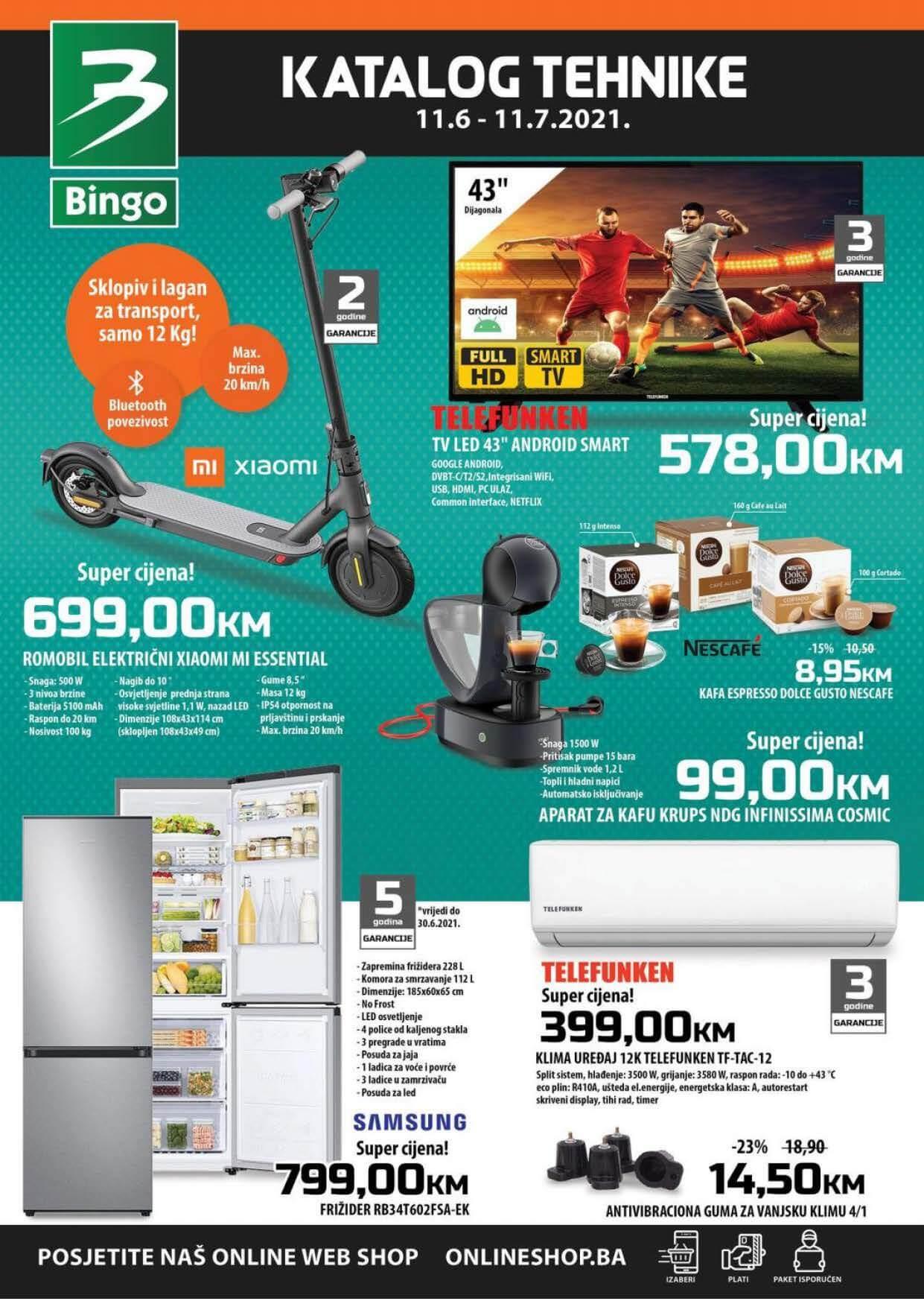BINGO Katalog Katalog tehnike JUN i JUL 2021 11.6. 11.7. eKatalozi.com PR Page 1
