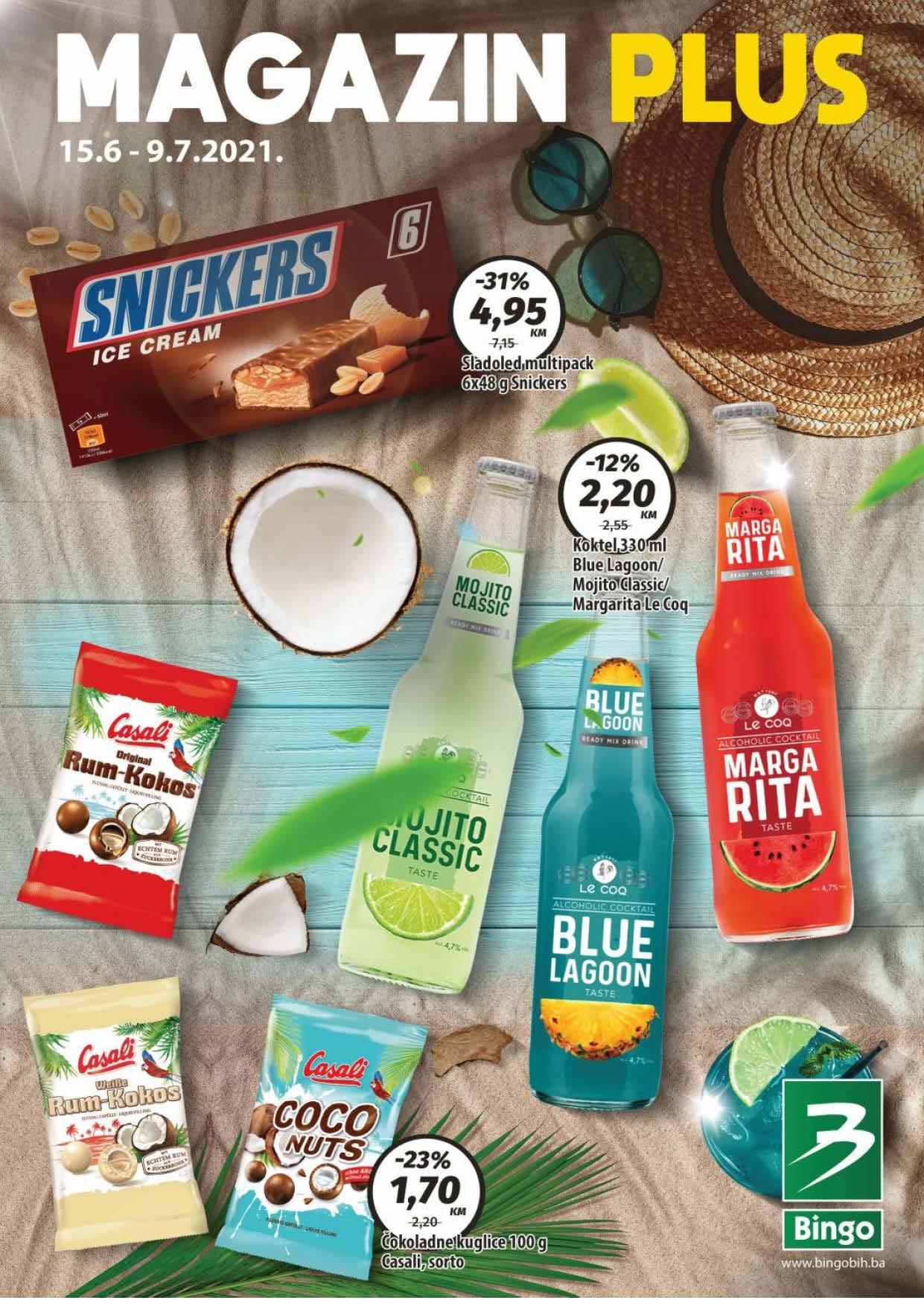 BINGO Katalog Magazin PLUS JUN i JUL 2021 15.6. 9.7. eKatalozi.com PR Page 01 1