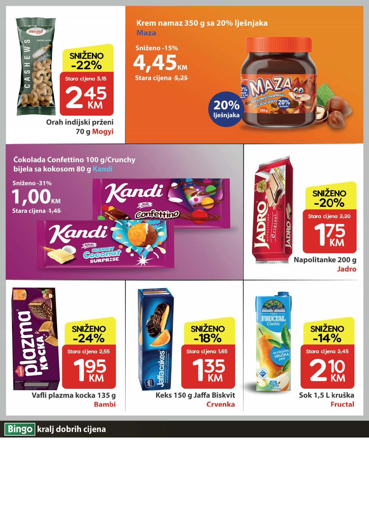 BINGO Katalog U Bingu vikend akcija traje cetiri dana JUN 2021 03.06. 06.06. Page 4