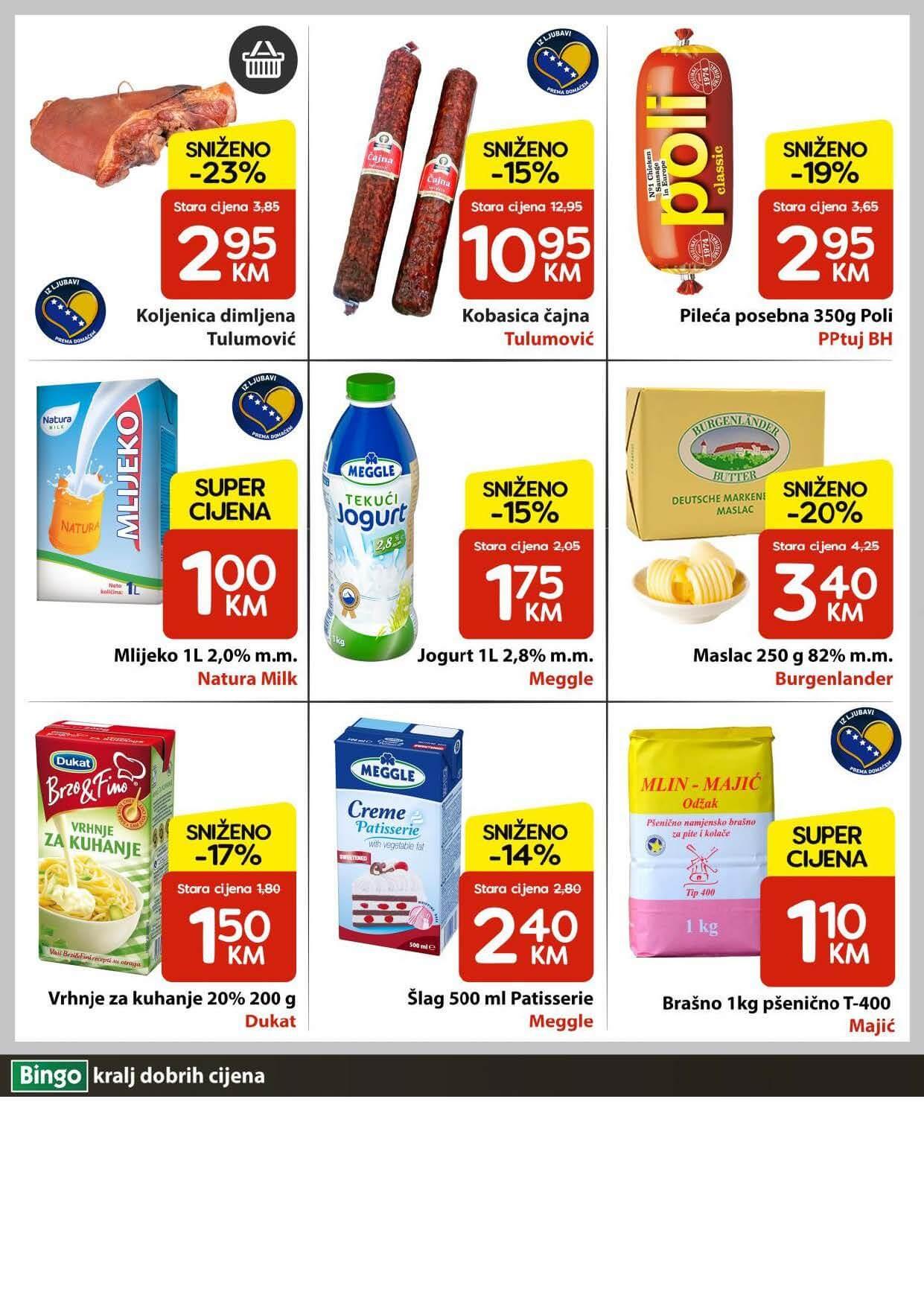 BINGO Katalog U Bingu vikend akcija traje cetiri dana JUN 2021 10.06. 13.06. Page 2
