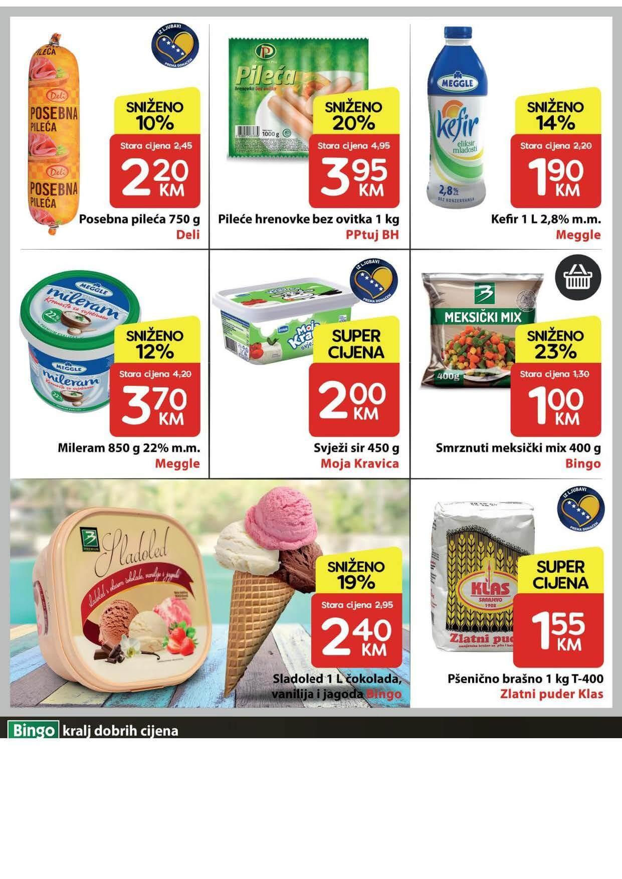 BINGO Katalog U Bingu vikend akcija traje cetiri dana JUN 2021 17.6. 20.6. eKatalozi.com PR Page 2
