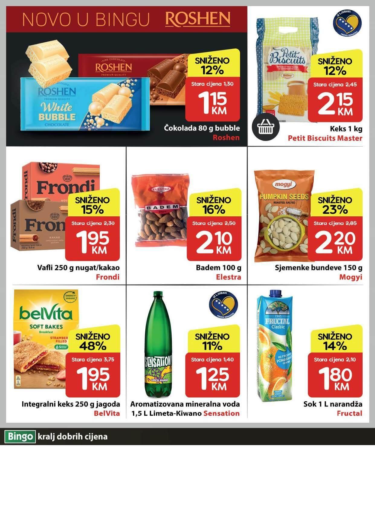BINGO Katalog U Bingu vikend akcija traje cetiri dana JUN 2021 17.6. 20.6. eKatalozi.com PR Page 4