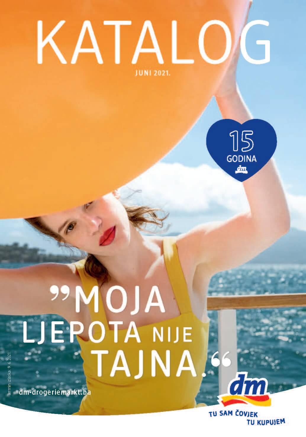DM Katalog BiH JUN 2021 09.06. 22.06. eKatalozi.com PR Page 01