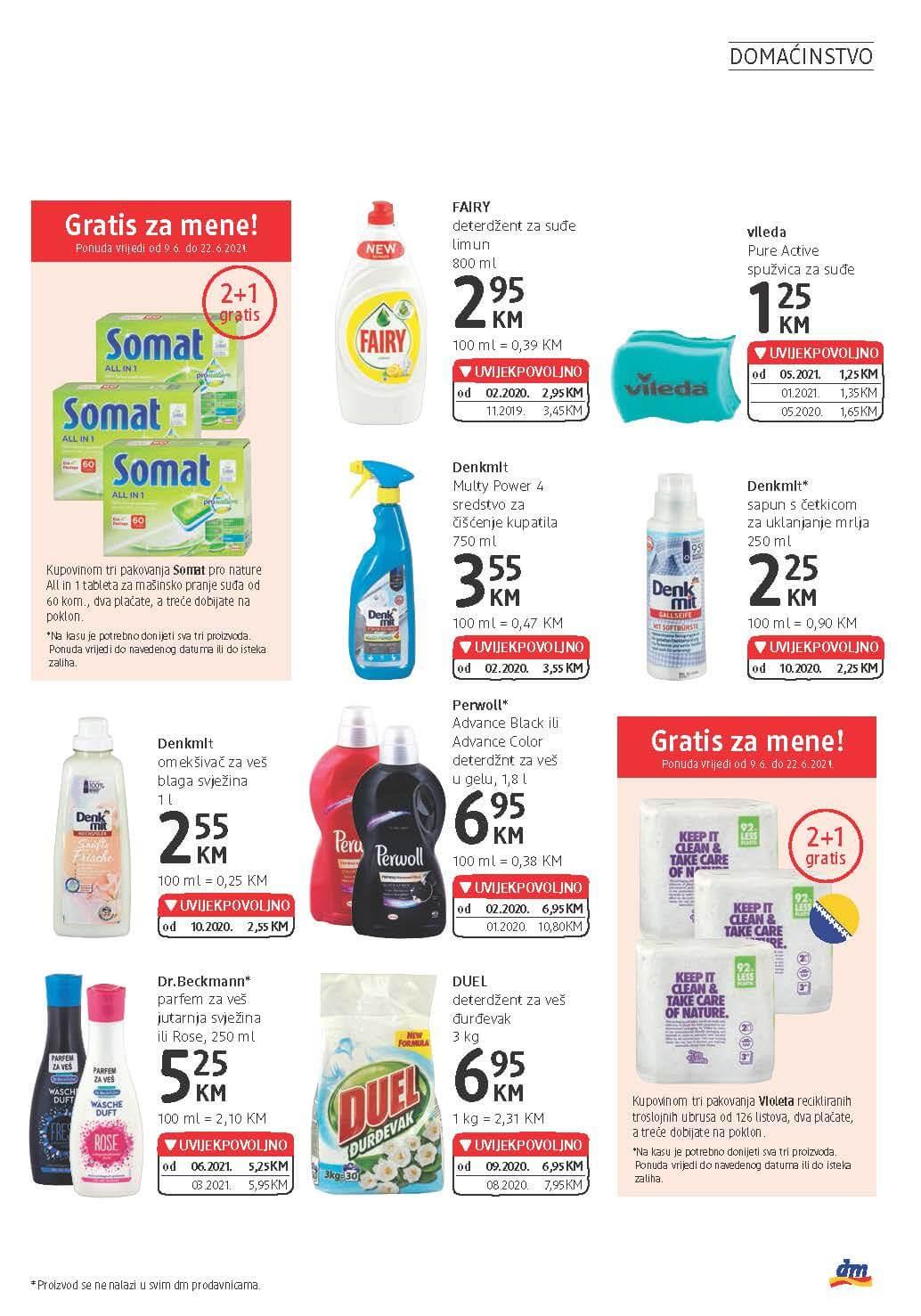 DM Katalog BiH JUN 2021 09.06. 22.06. eKatalozi.com PR Page 21