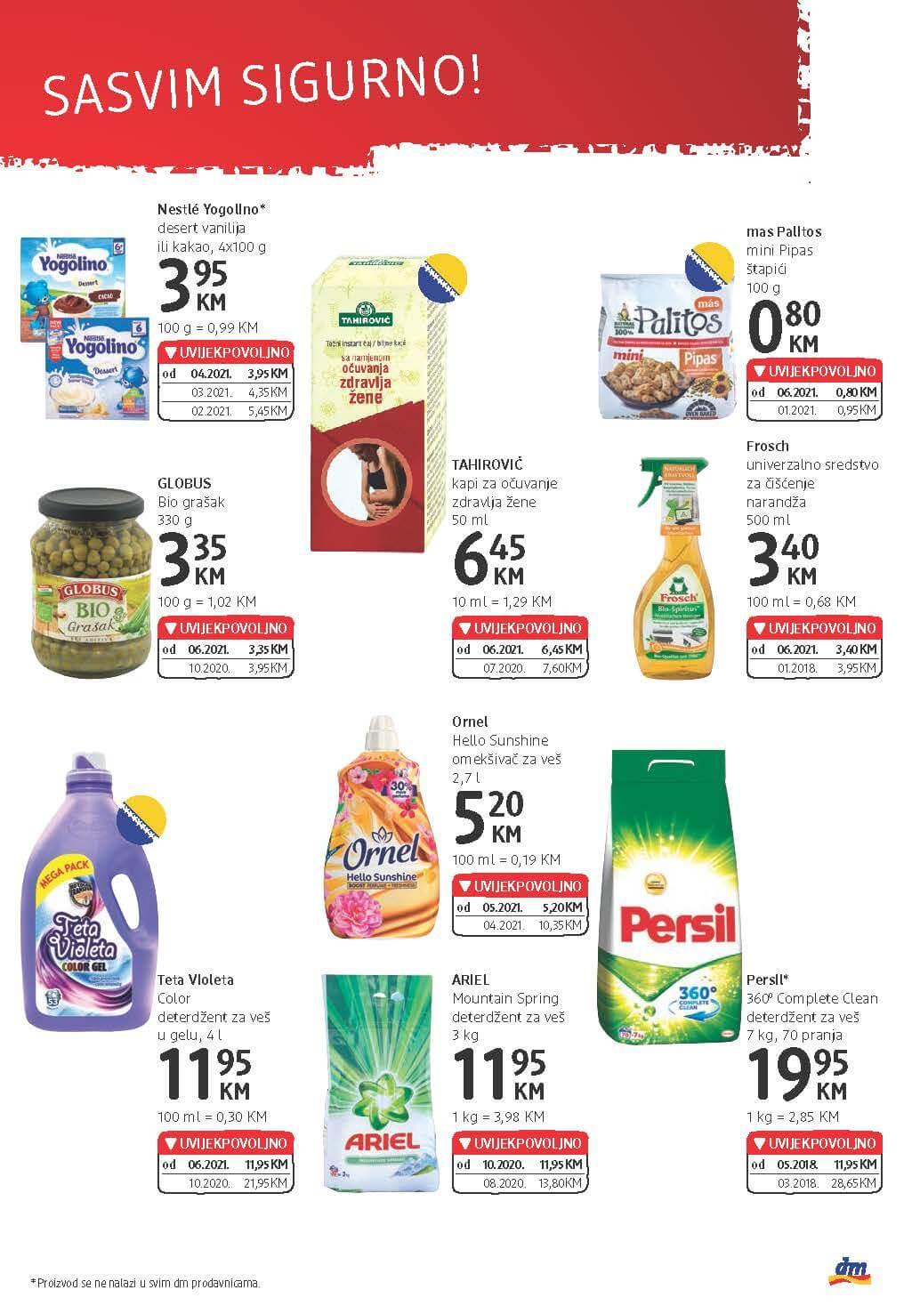 DM Katalog BiH JUN 2021 09.06. 22.06. eKatalozi.com PR Page 23