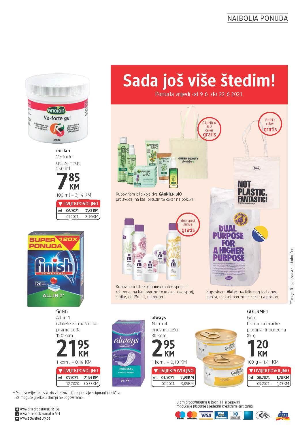 DM Katalog BiH JUN 2021 09.06. 22.06. eKatalozi.com PR Page 24