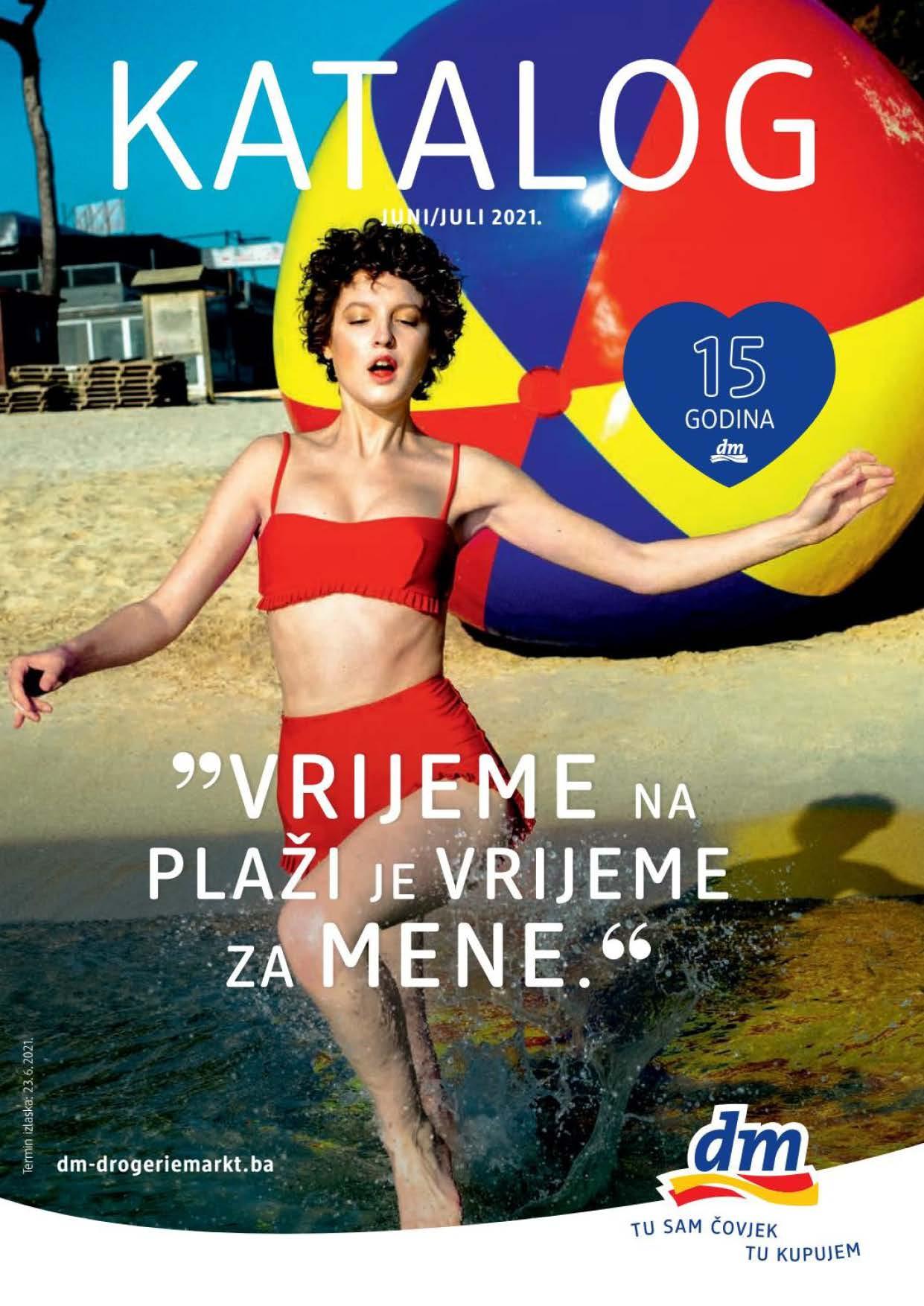 DM Katalog BiH JUN JUL 2021 23.6.2021. 6.7.2021. eKatalozi.com PR Page 01