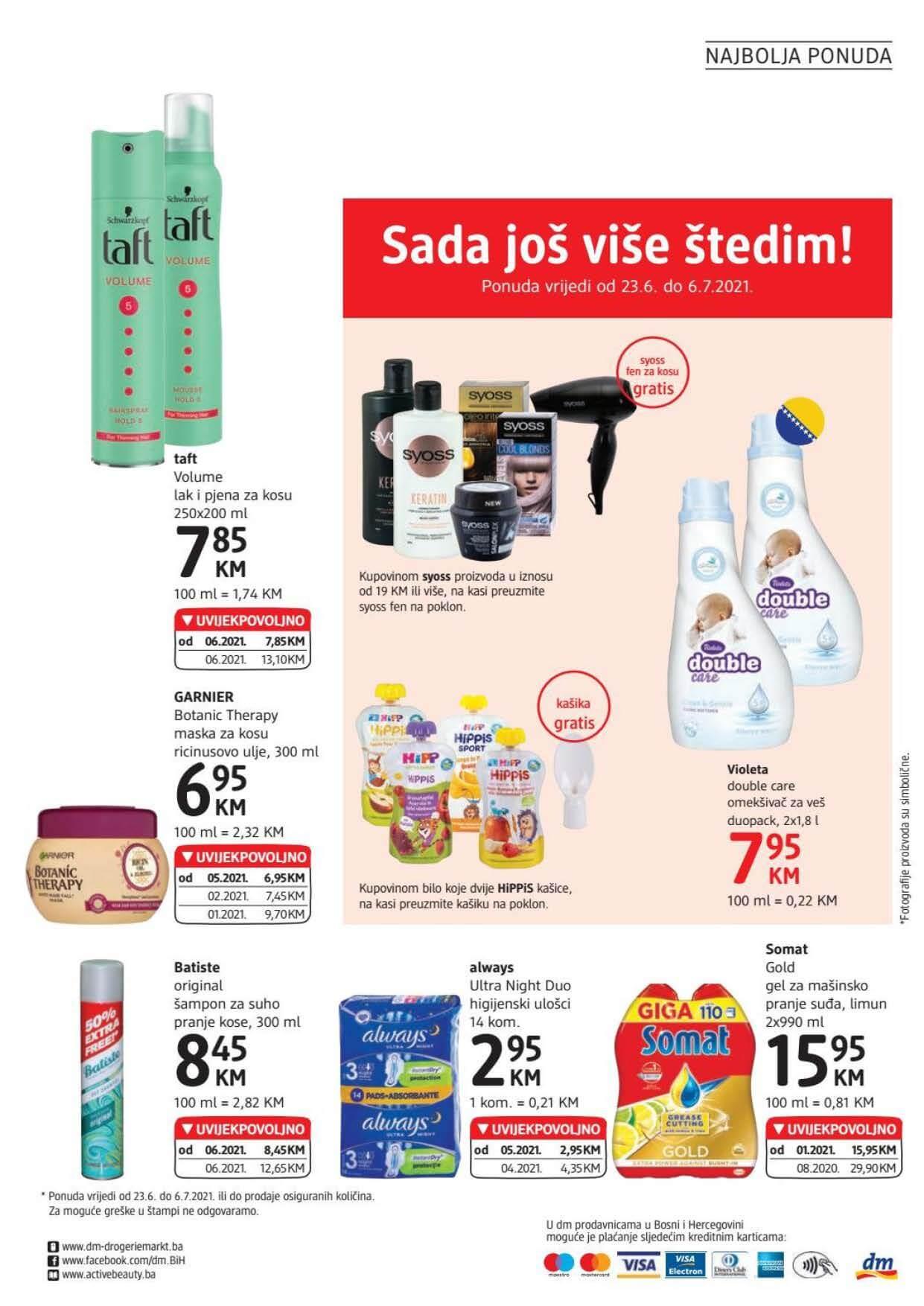 DM Katalog BiH JUN JUL 2021 23.6.2021. 6.7.2021. eKatalozi.com PR Page 24
