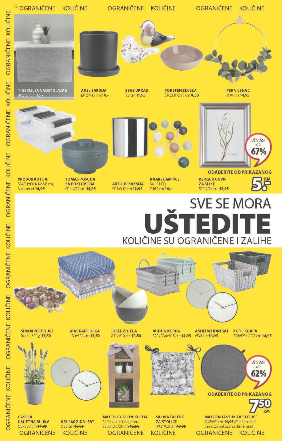 JYSK Katalog Akcijska rasprodaja JUN 2021 03.06. 16.06 eKatalozi.com PR Page 19