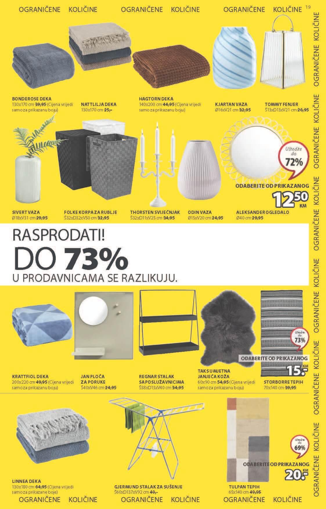 JYSK Katalog Akcijska rasprodaja JUN 2021 03.06. 16.06 eKatalozi.com PR Page 20