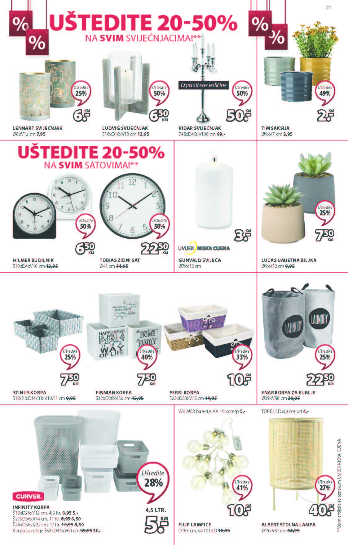JYSK Katalog Akcijska rasprodaja JUN 2021 03.06. 16.06 eKatalozi.com PR Page 22