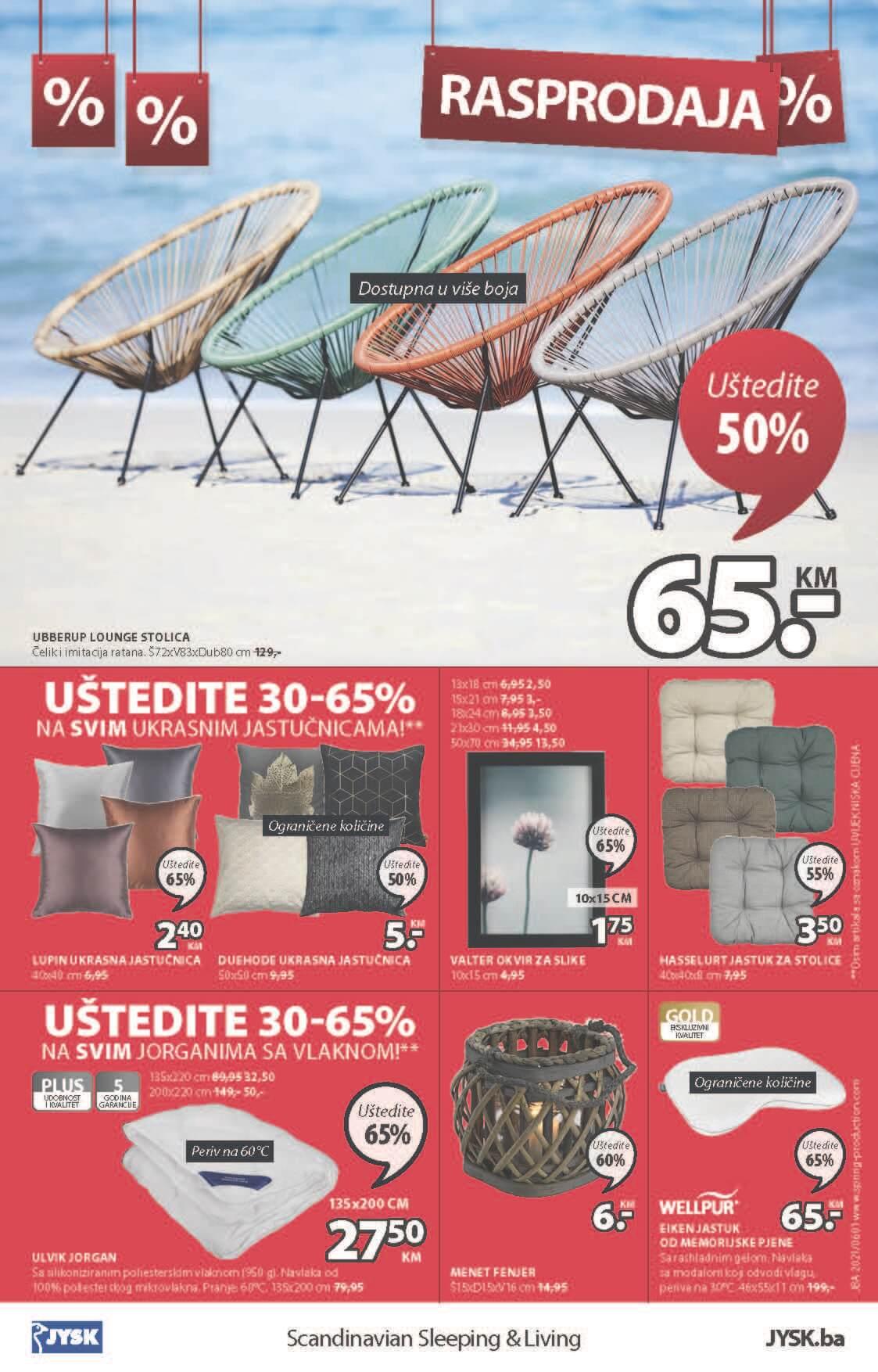 JYSK Katalog Akcijska rasprodaja JUN 2021 03.06. 16.06 eKatalozi.com PR Page 25