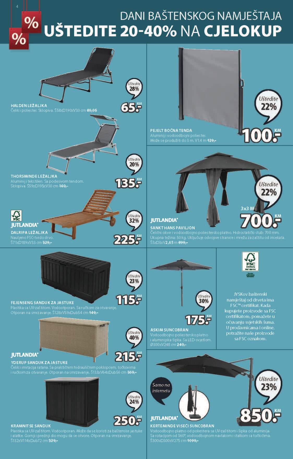 JYSK Katalog Akcijska rasprodaja JUN JUL 2021 24.6. 7.7. Page 05