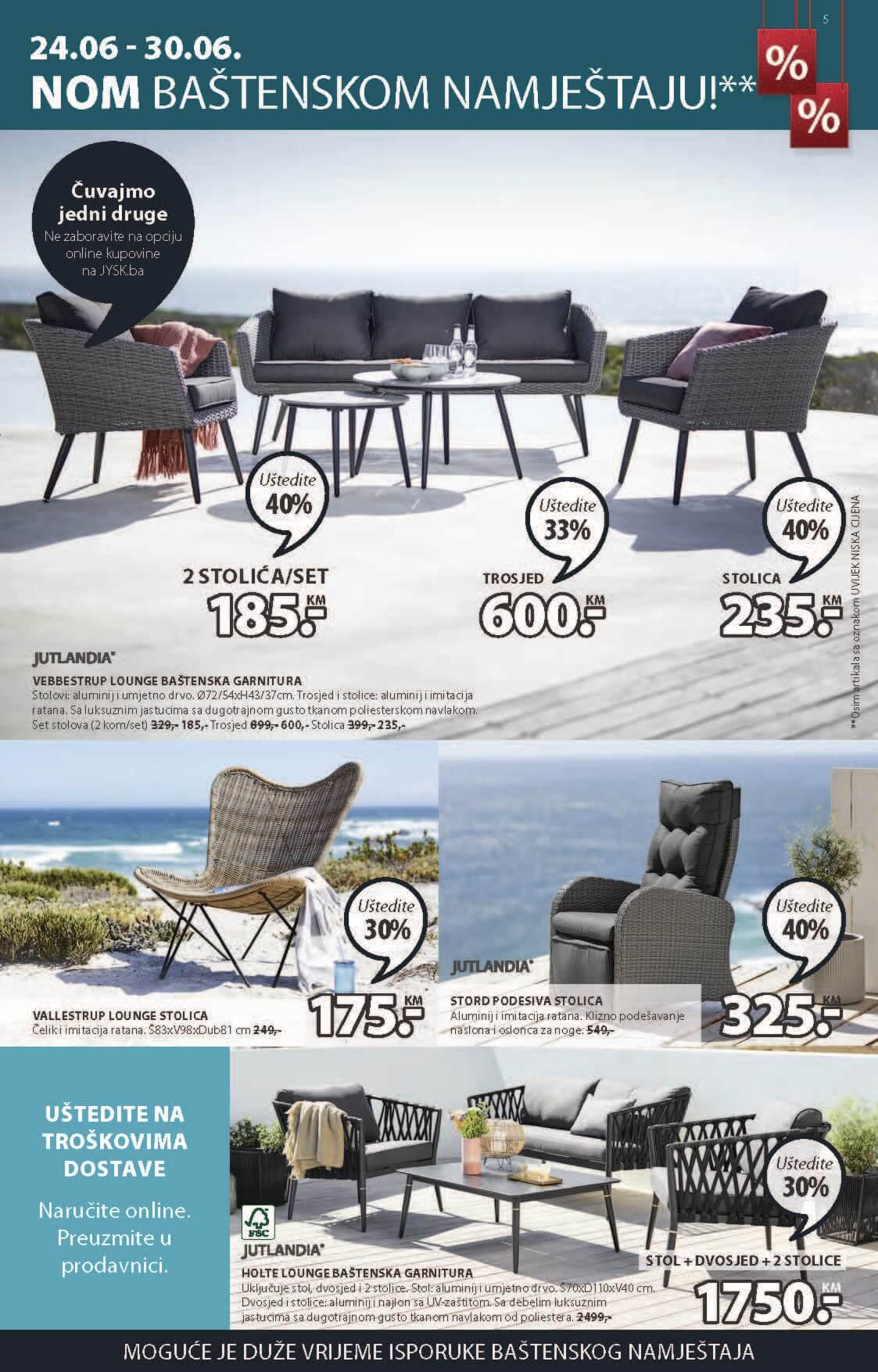JYSK Katalog Akcijska rasprodaja JUN JUL 2021 24.6. 7.7. Page 06