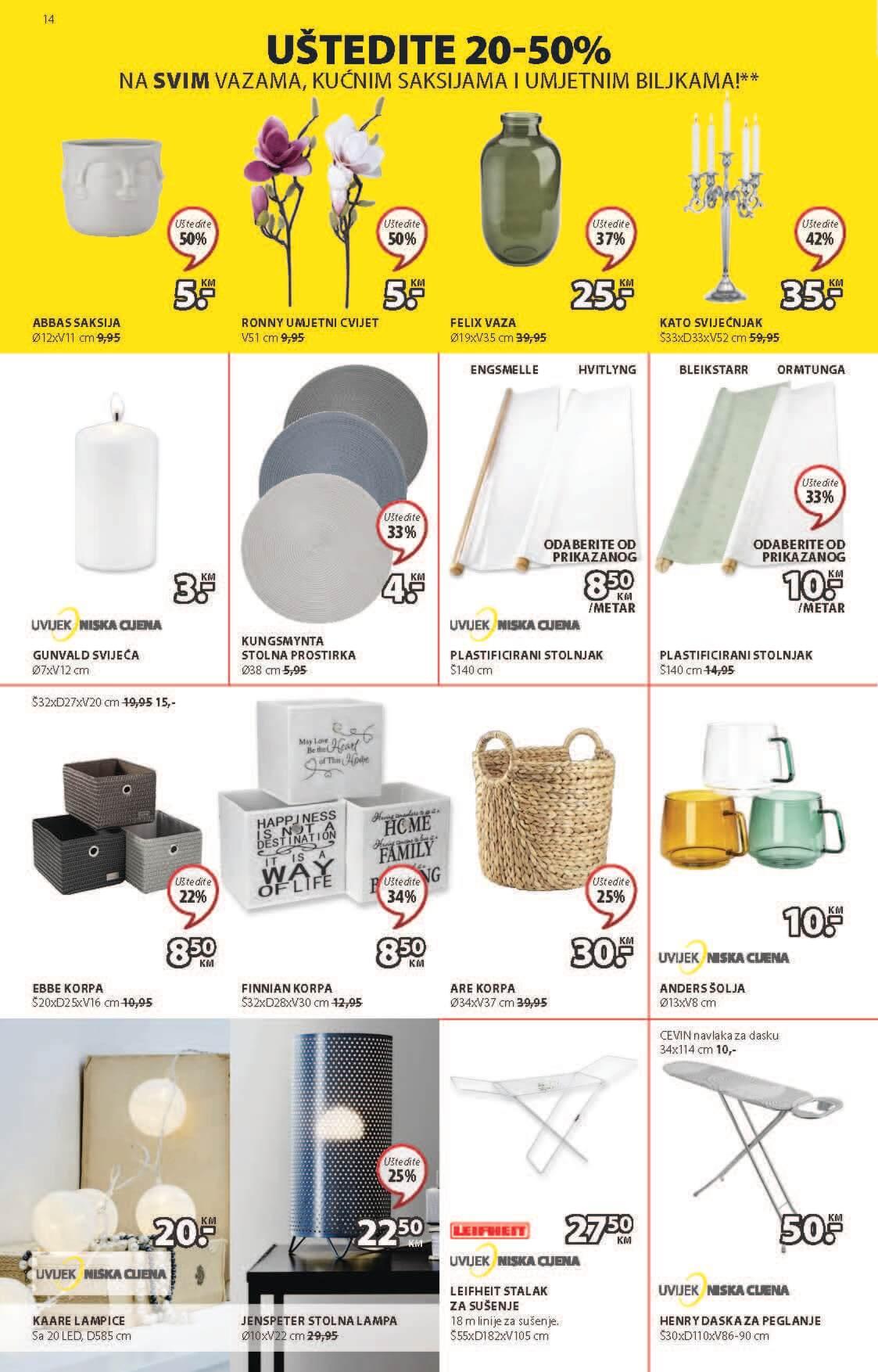 JYSK Katalog Akcijska rasprodaja JUN JUL 2021 24.6. 7.7. Page 15