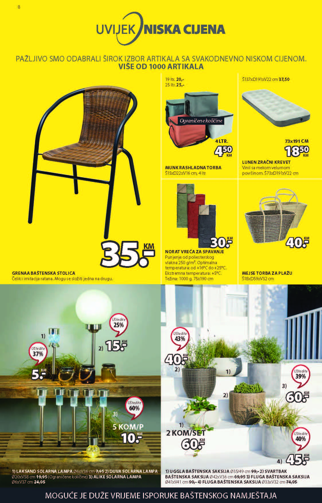 JYSK Katalog Ljetna RASPRODAJA JUN 2021 17.6. 30.6. ekatalozi.com PR Page 09