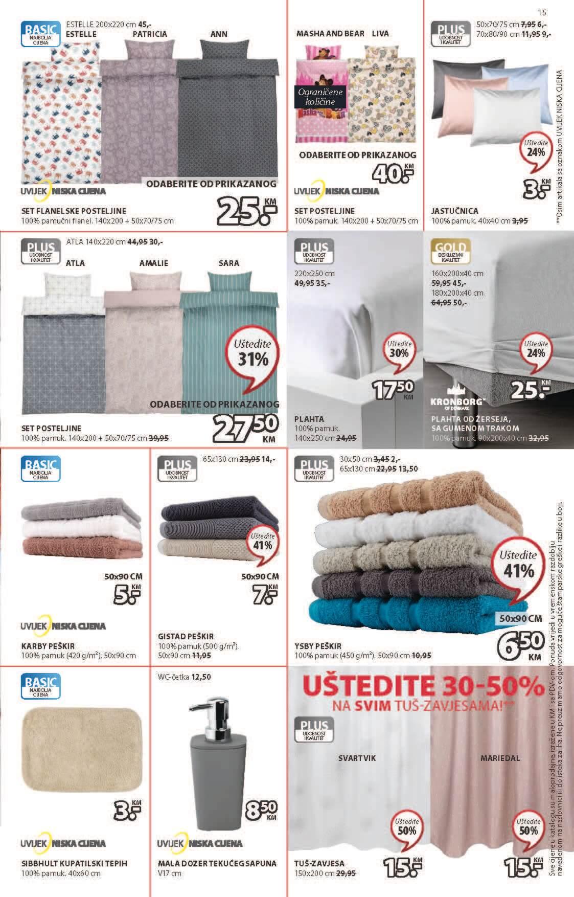 JYSK Katalog Ljetna RASPRODAJA JUN 2021 17.6. 30.6. ekatalozi.com PR Page 16