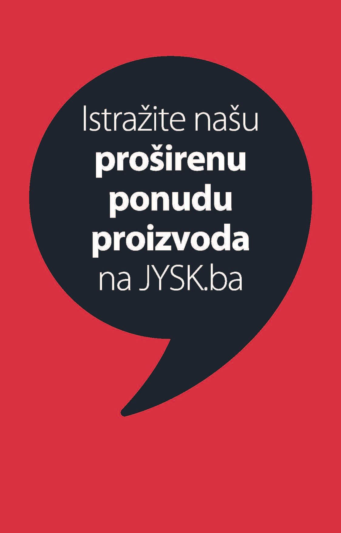 JYSK Katalog Sedmicna ponuda JUN 2021 10.06. 23.06. Page 01