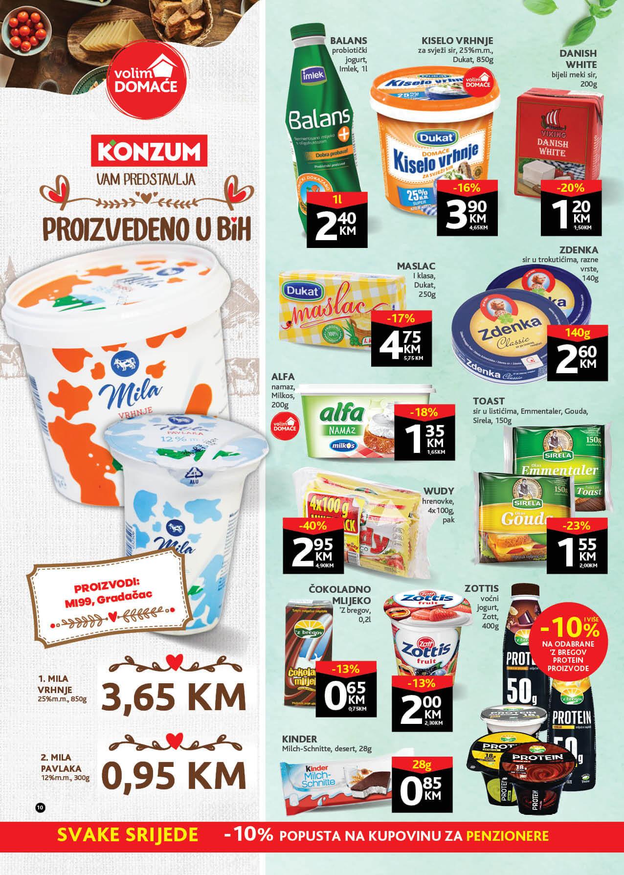 KONZUM Katalog Redovni katalog JUN 2021 07.06. 17.06. eKatalozi.com PR Page 10