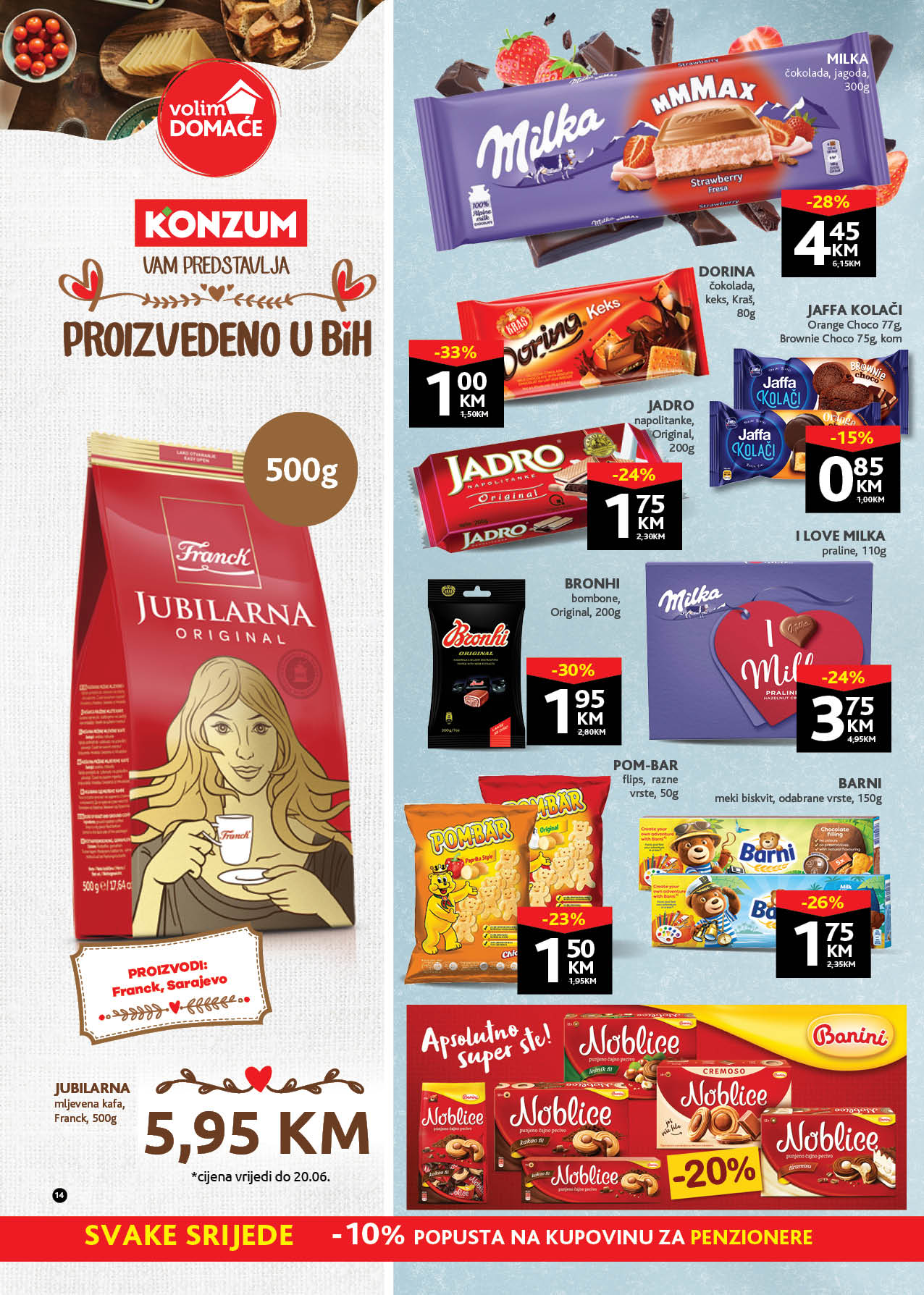 KONZUM Katalog Redovni katalog JUN 2021 07.06. 17.06. eKatalozi.com PR Page 14