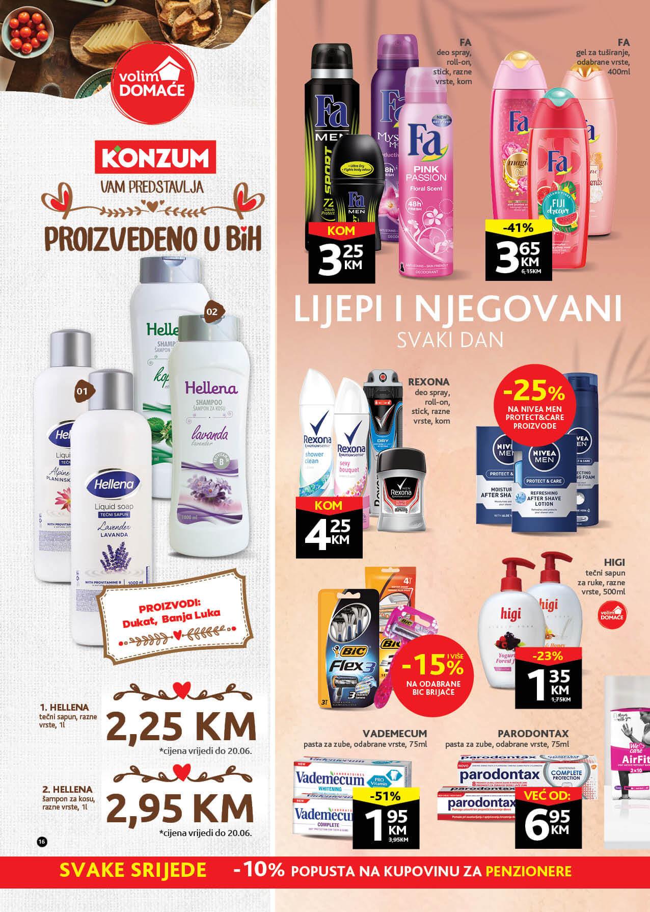 KONZUM Katalog Redovni katalog JUN 2021 07.06. 17.06. eKatalozi.com PR Page 16