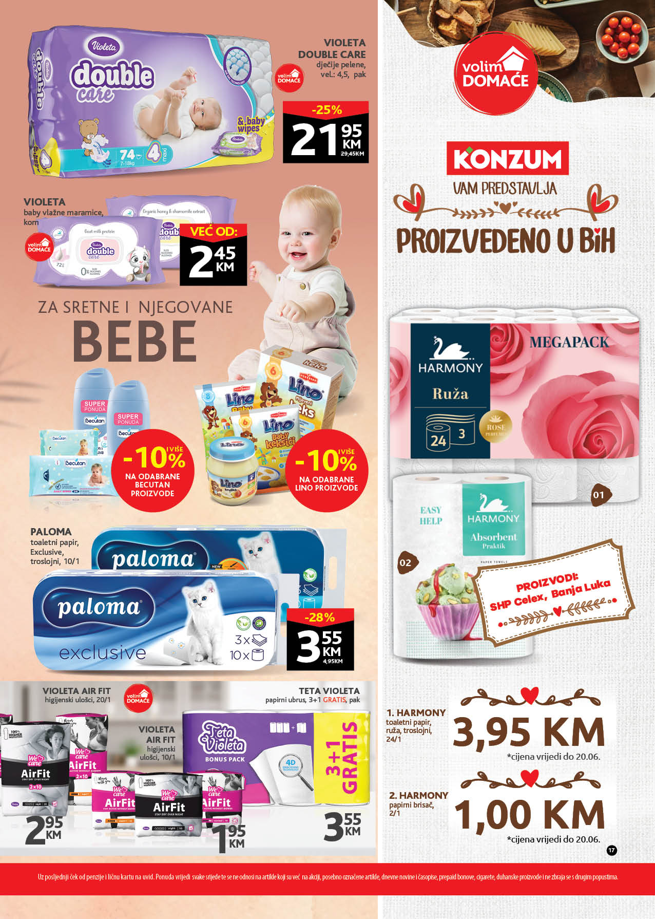 KONZUM Katalog Redovni katalog JUN 2021 07.06. 17.06. eKatalozi.com PR Page 17