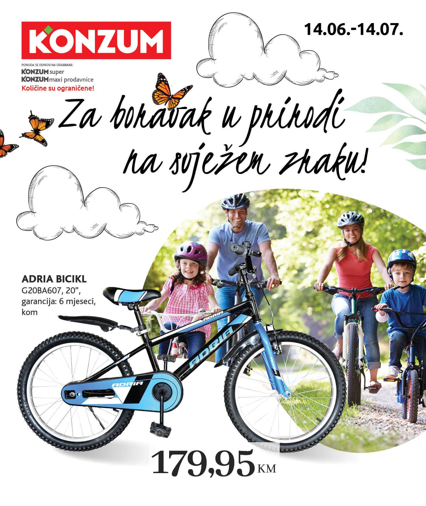 KONZUM Katalog Za boravak u prirodi JUN i JUL 2021 14.6. 14.7. eKatalozi.com PR Page 01