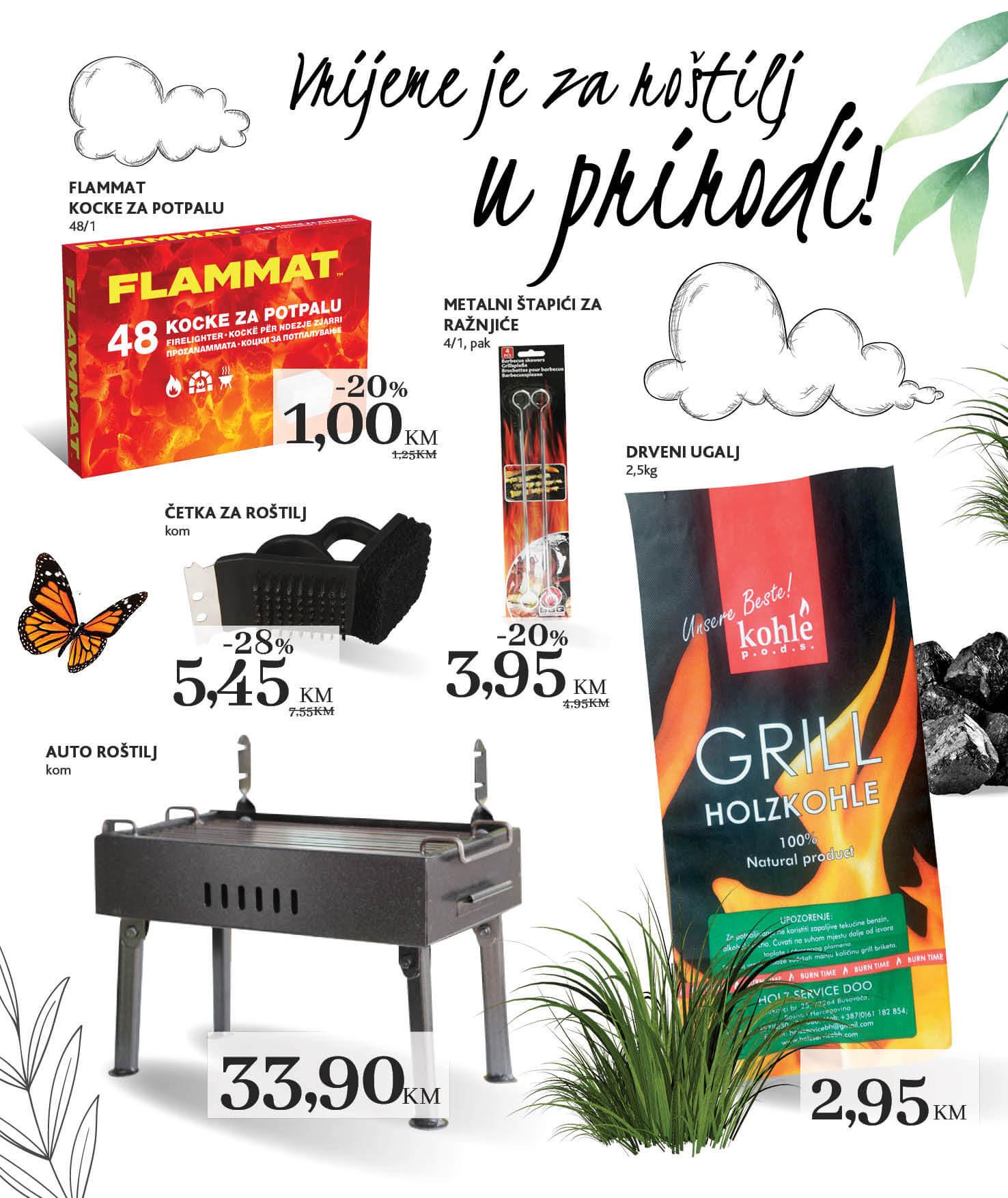 KONZUM Katalog Za boravak u prirodi JUN i JUL 2021 14.6. 14.7. eKatalozi.com PR Page 08