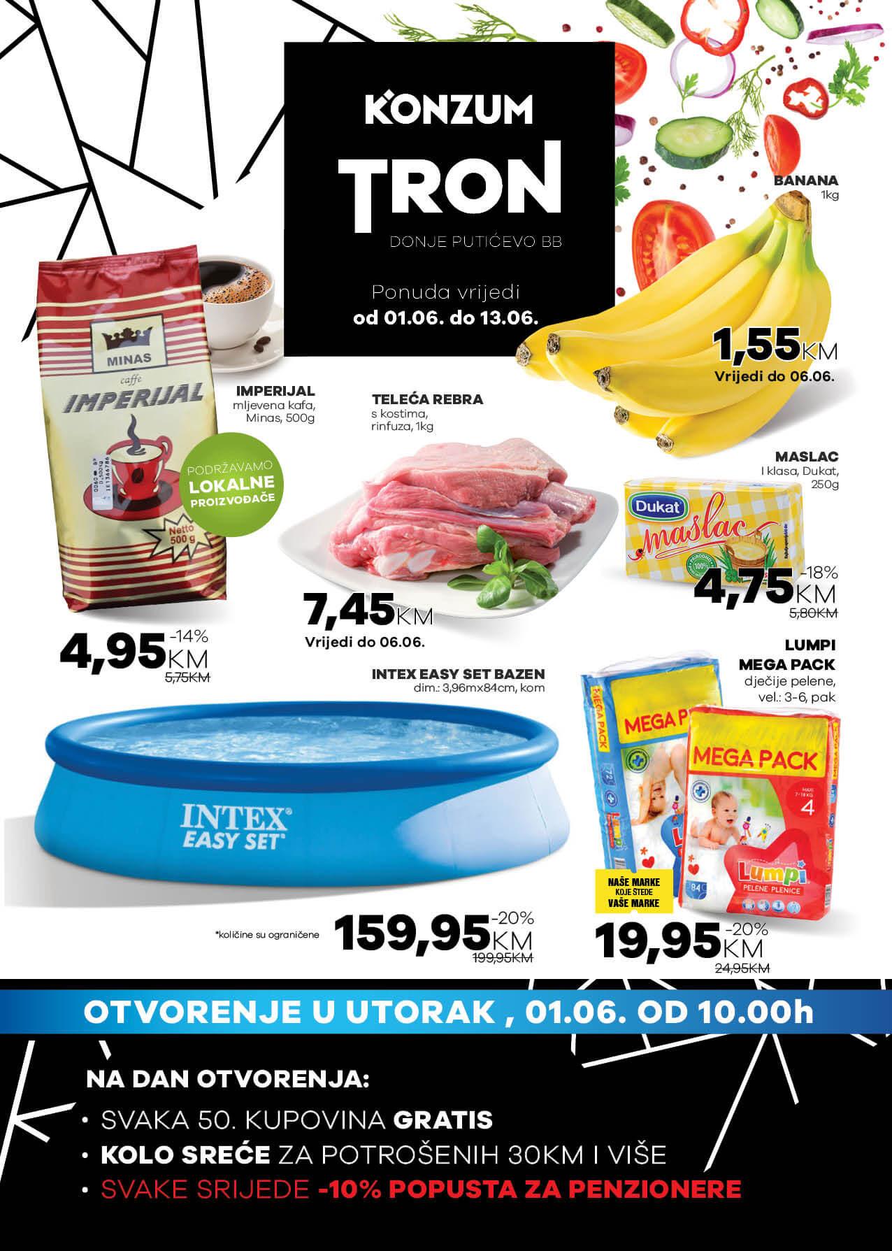 Konzum TRON katalog JUN 2021 01.06. 13.06. eKatalozi.com PR Page 1 1