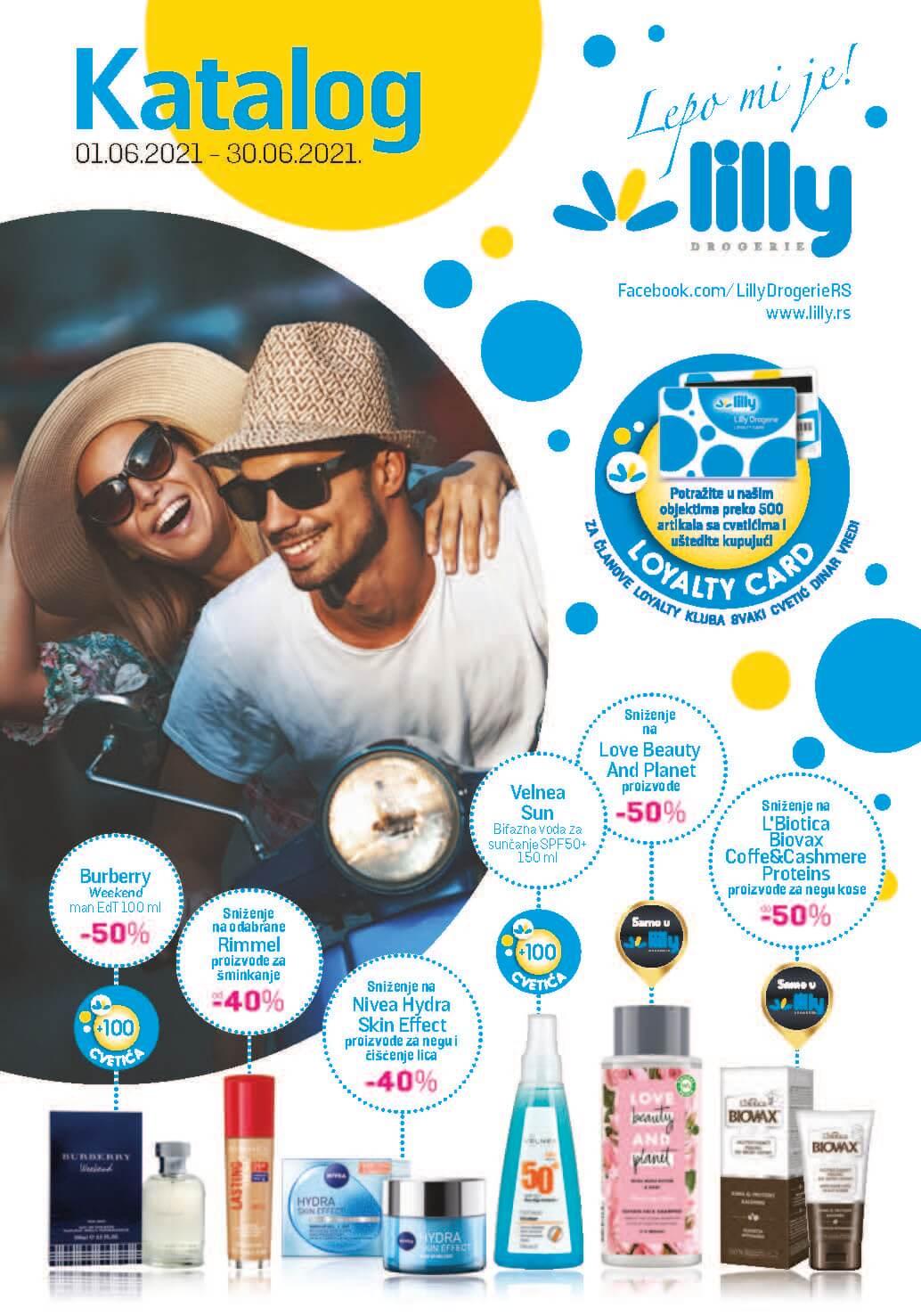 LILLY Katalog LILLY ONLINE Akcija JUN 2021 01.06.2021. 30.06.2021. eKatalozi.com PR Page 01