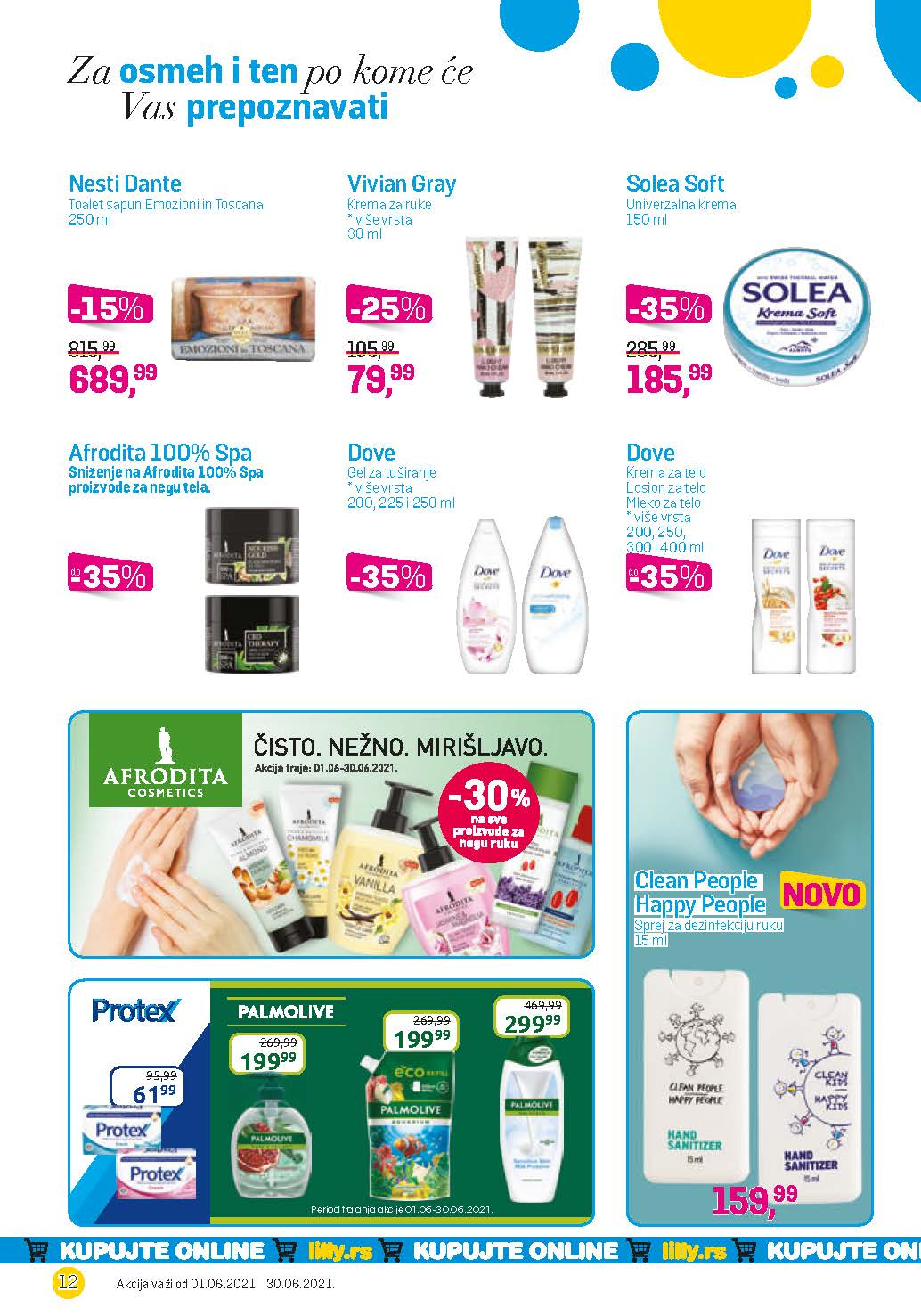 LILLY Katalog LILLY ONLINE Akcija JUN 2021 01.06.2021. 30.06.2021. eKatalozi.com PR Page 12