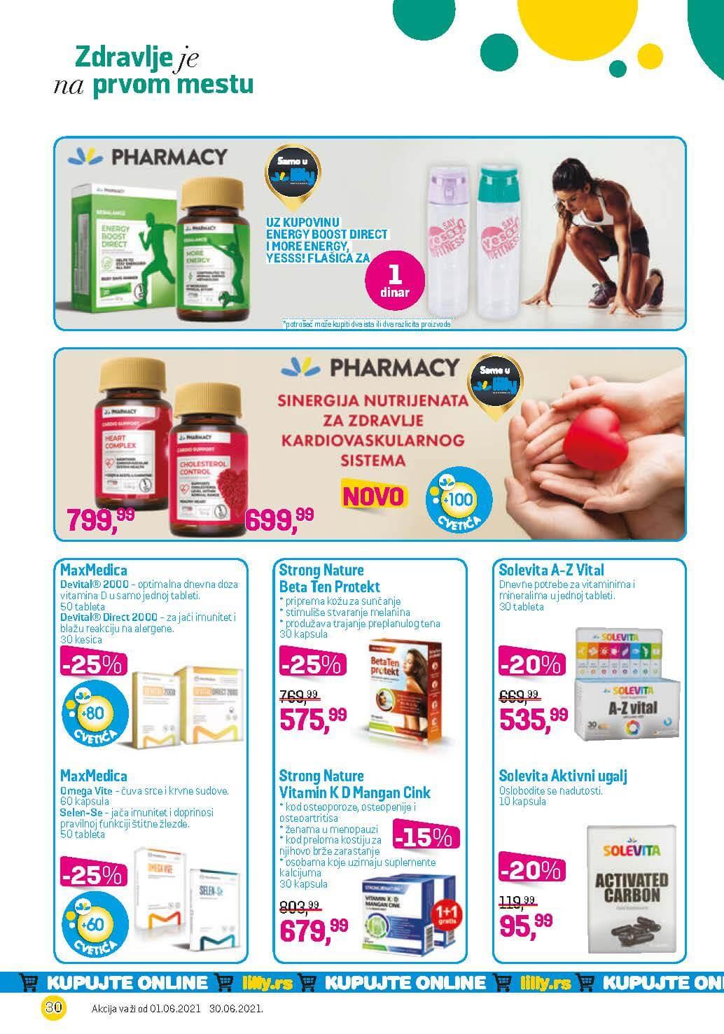 LILLY Katalog LILLY ONLINE Akcija JUN 2021 01.06.2021. 30.06.2021. eKatalozi.com PR Page 30