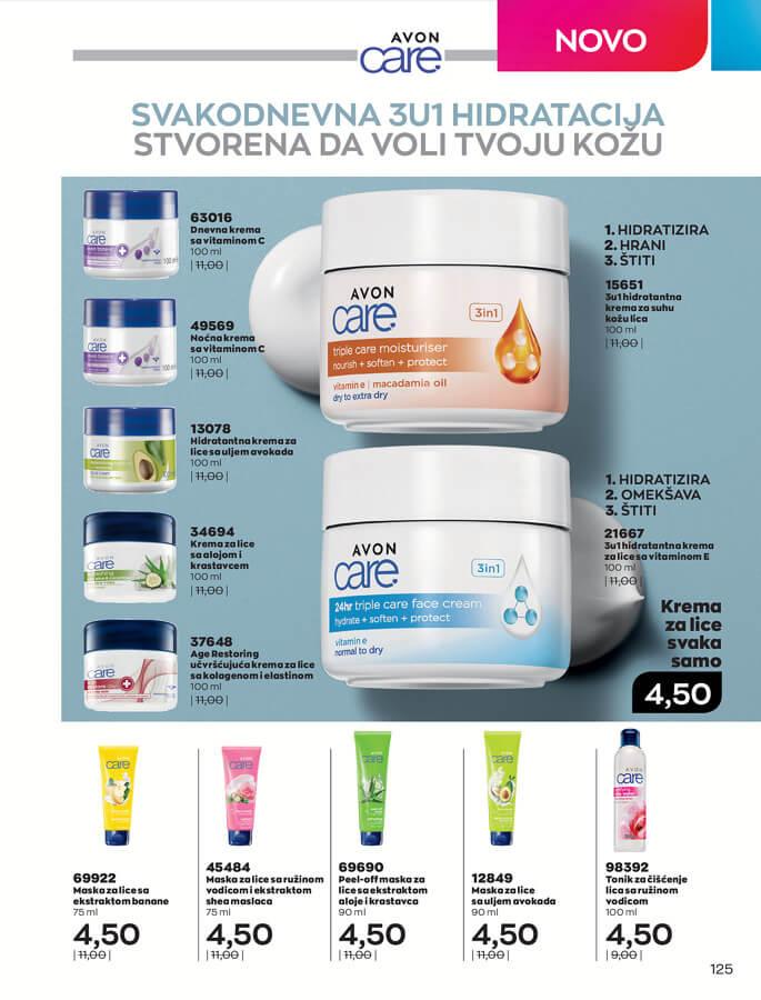 AVON Katalog i Brosura BiH JUL 2021 eKatalozi.com 1.7.2021. 31.7.2021 125