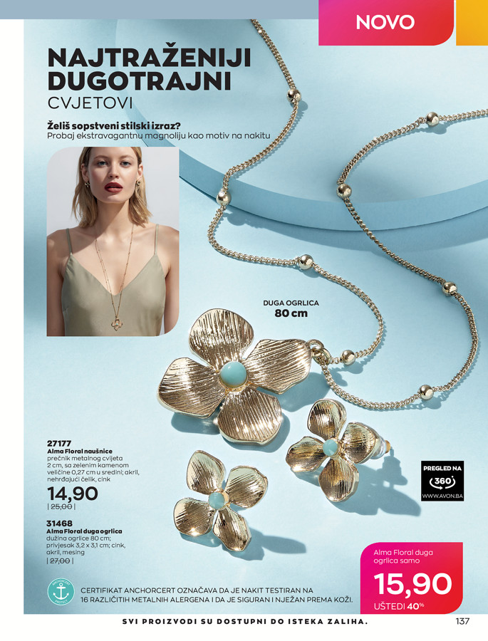 AVON Katalog i Brosura BiH JUL 2021 eKatalozi.com 1.7.2021. 31.7.2021 137