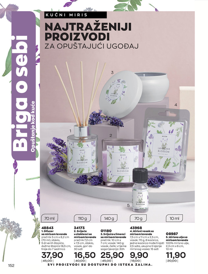 AVON Katalog i Brosura BiH JUL 2021 eKatalozi.com 1.7.2021. 31.7.2021 152