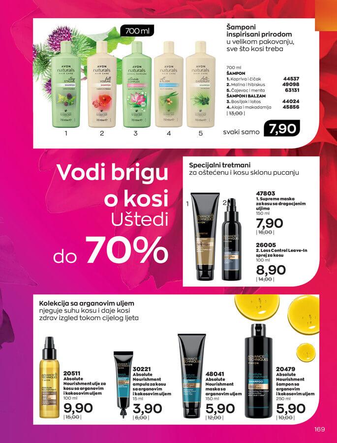 AVON Katalog i Brosura BiH JUL 2021 eKatalozi.com 1.7.2021. 31.7.2021 169