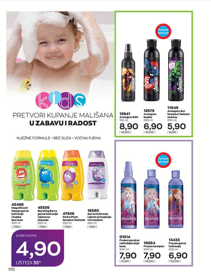 AVON Katalog i Brosura BiH JUL 2021 eKatalozi.com 1.7.2021. 31.7.2021 170