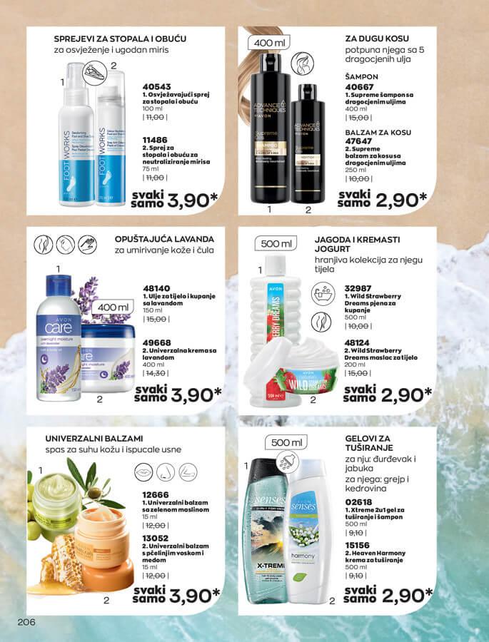 AVON Katalog i Brosura BiH JUL 2021 eKatalozi.com 1.7.2021. 31.7.2021 206