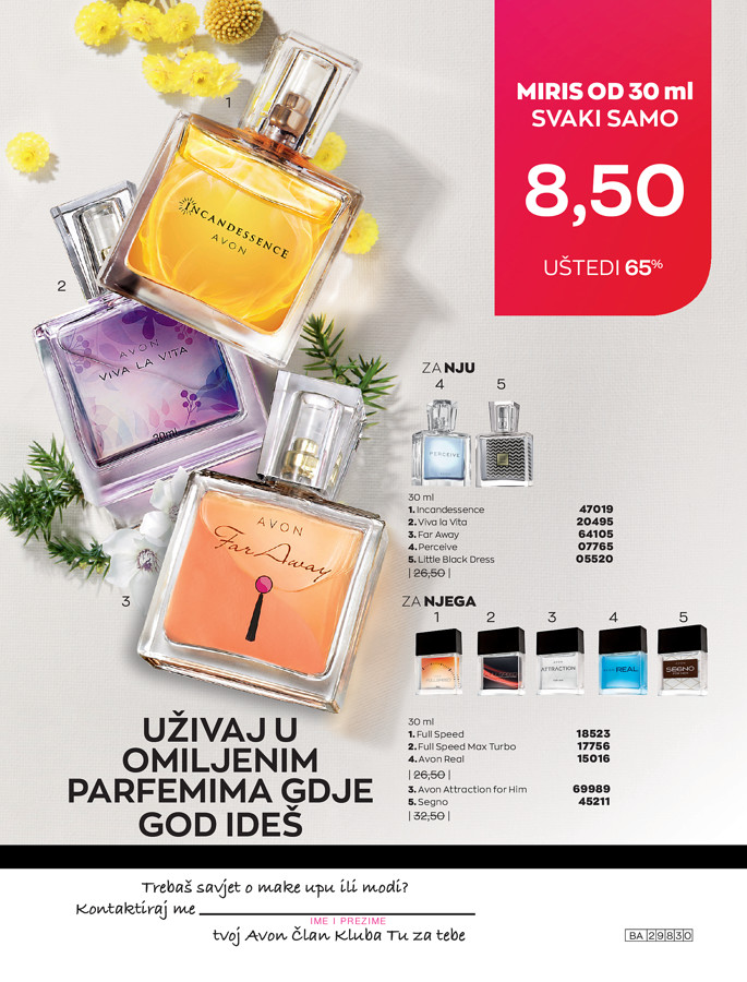 AVON Katalog i Brosura BiH JUL 2021 eKatalozi.com 1.7.2021. 31.7.2021 210
