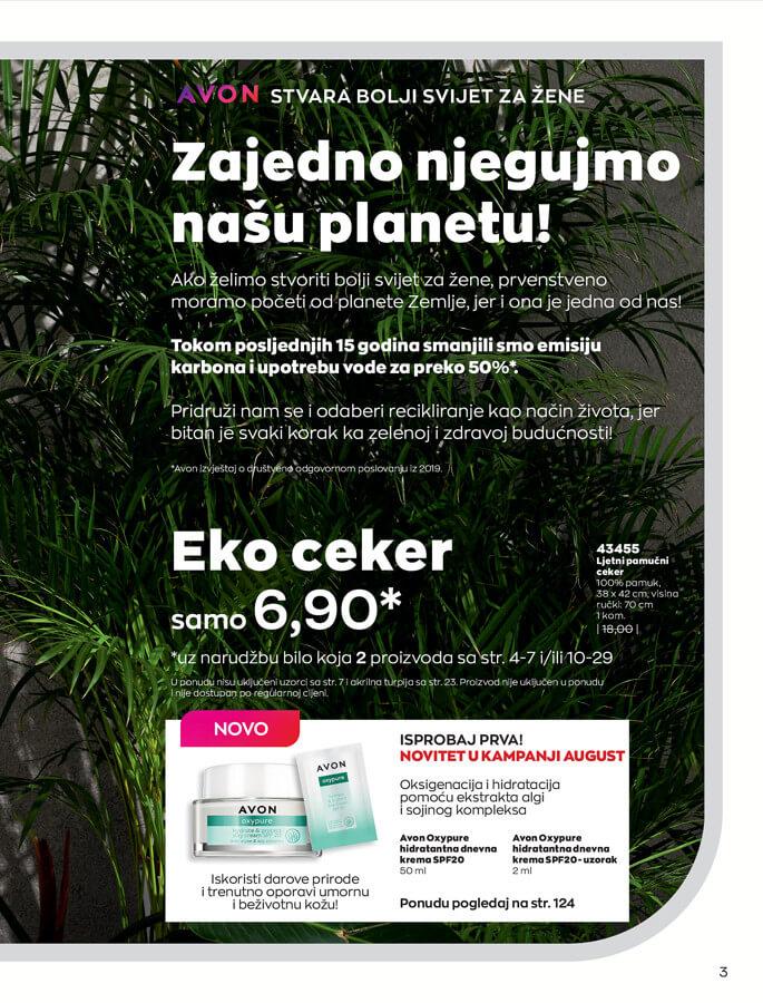 AVON Katalog i Brosura BiH JUL 2021 eKatalozi.com 1.7.2021. 31.7.2021 3