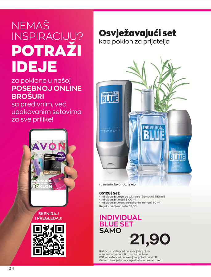 AVON Katalog i Brosura BiH JUL 2021 eKatalozi.com 1.7.2021. 31.7.2021 34