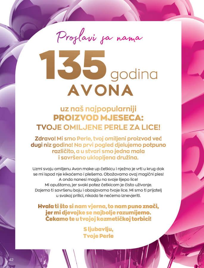 AVON Katalog i Brosura BiH JUL 2021 eKatalozi.com 1.7.2021. 31.7.2021 42