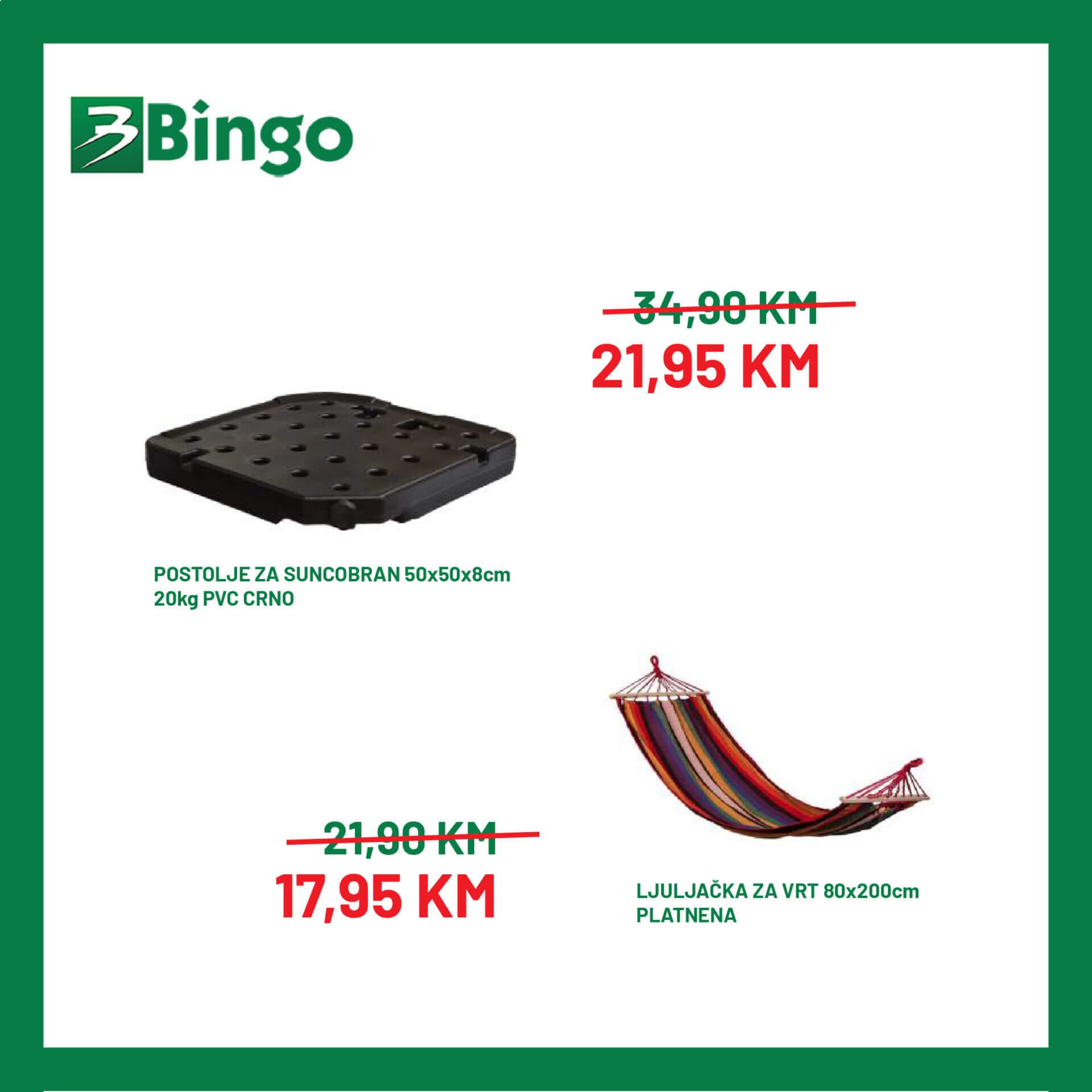 BINGO Katalog Akcija namjestaja JUL 2021 12.7. 19.7 2