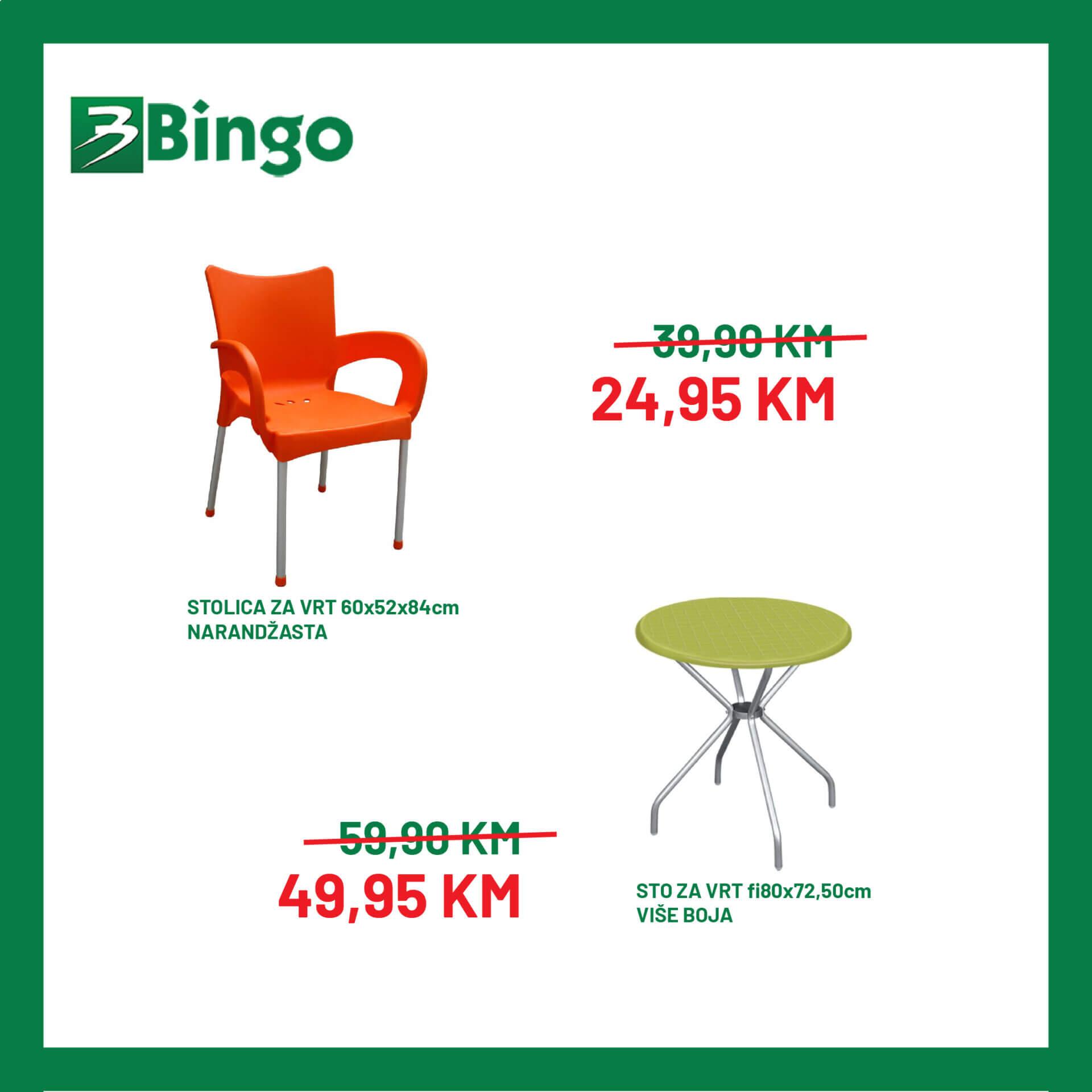 BINGO Katalog Akcija namjestaja JUL 2021 12.7. 19.7 4