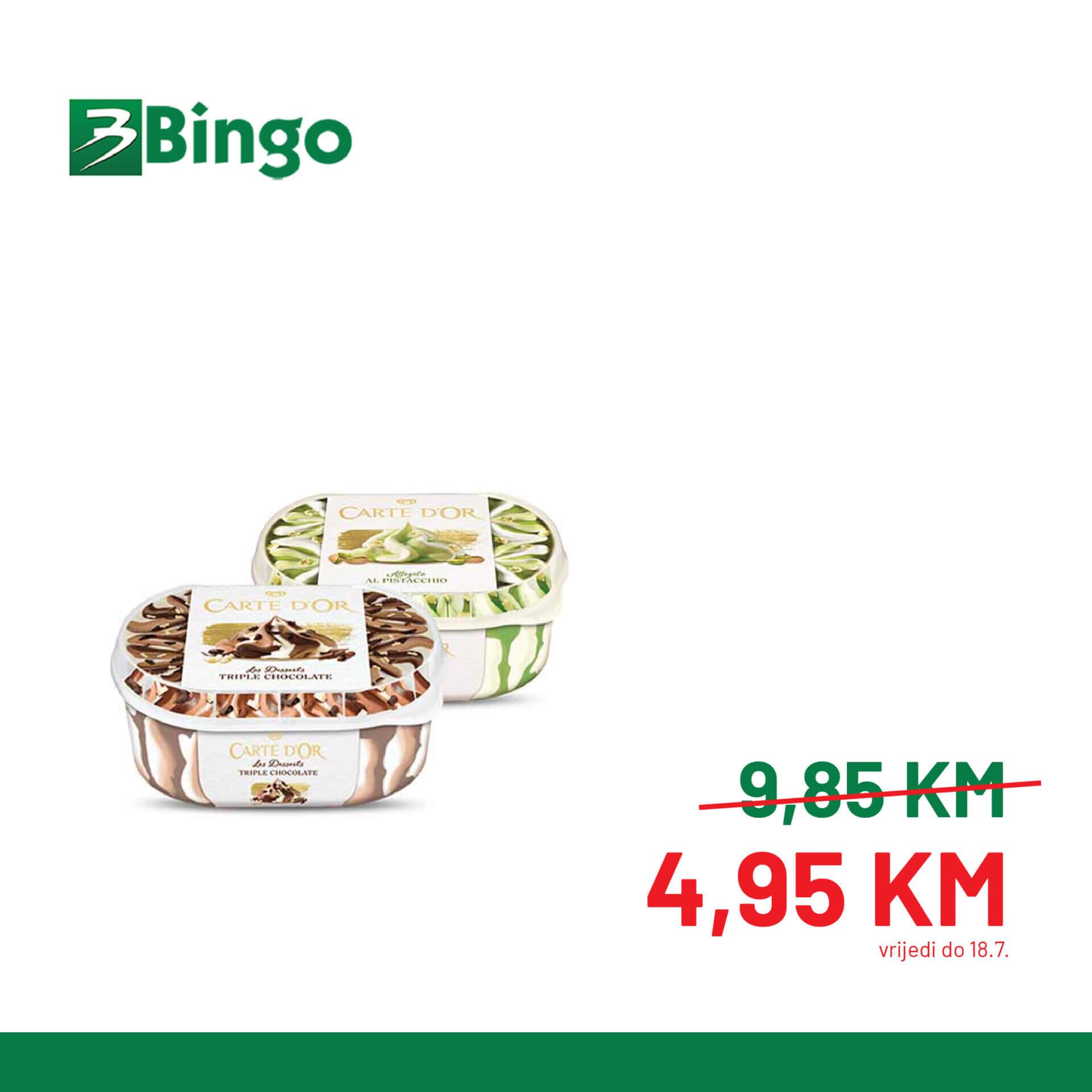 BINGO Katalog Super BINGO Ponude JUL 2021 10.7.2021. 18.7 1 1