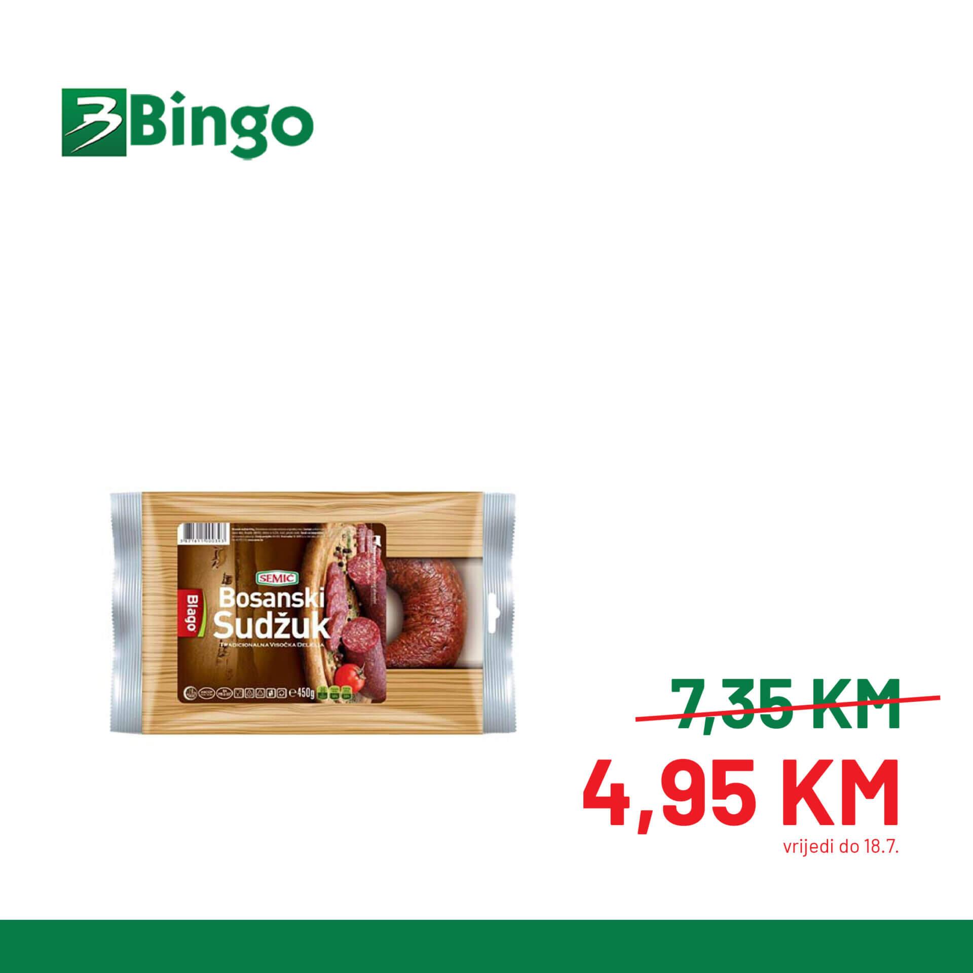 BINGO Katalog Super BINGO Ponude JUL 2021 10.7.2021. 18.7 3