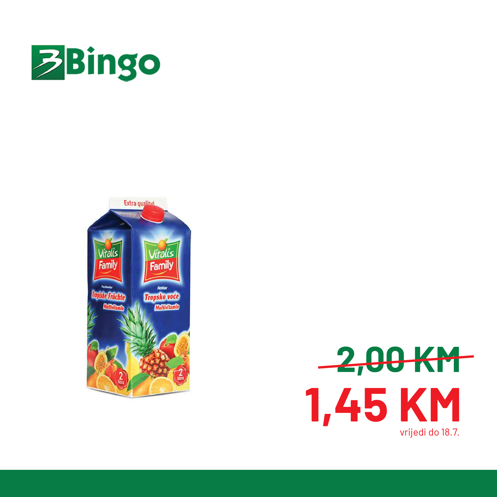 BINGO Katalog Super BINGO Ponude JUL 2021 10.7.2021. 18.7 4