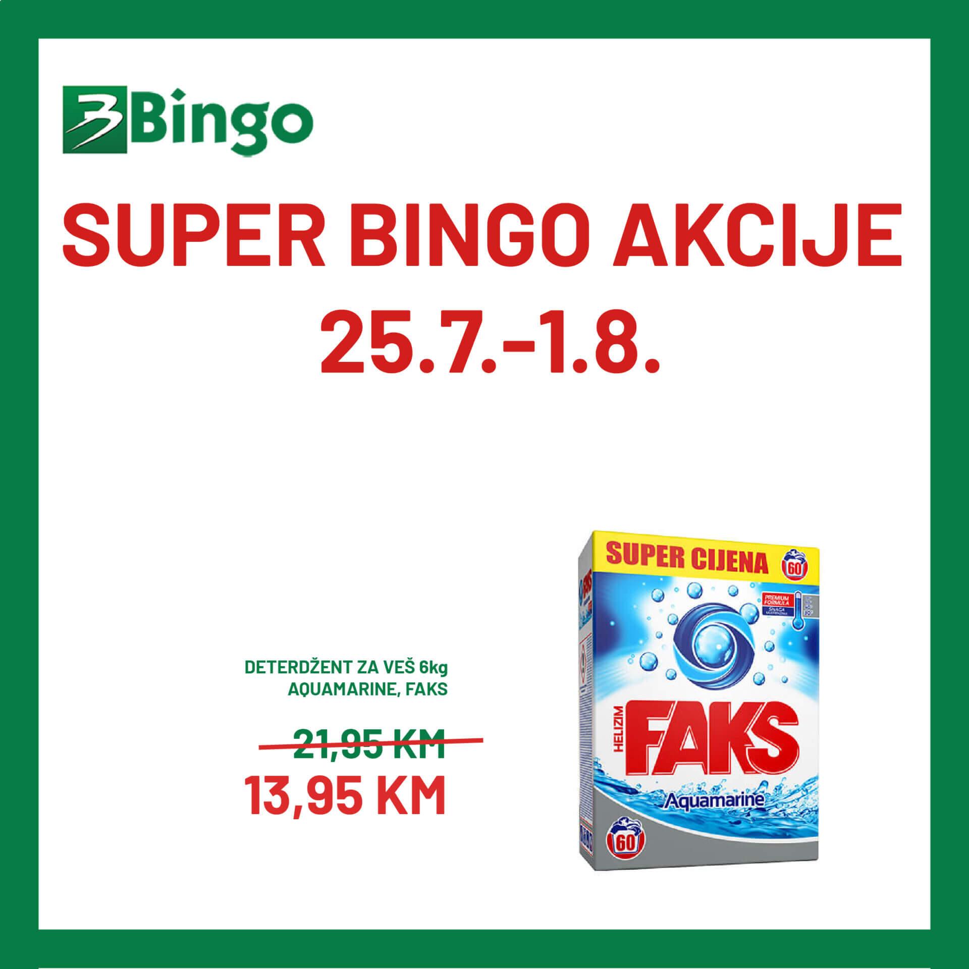 BINGO akcija 25.7. 1.8 01 1